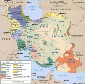 Iran demographics 2004